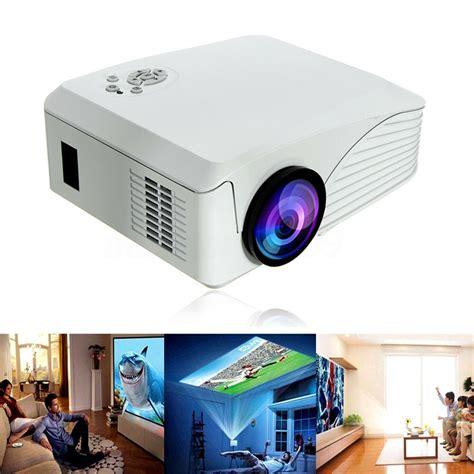 Portable 7000 Lumens HD 1080P Multimedia Projector LED