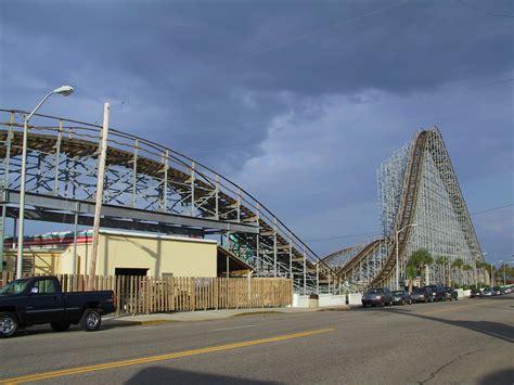 Myrtle Beach Pavilion: Hurricane Roller Coaster & More