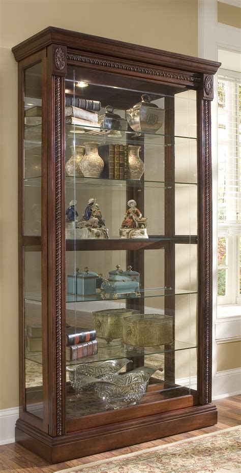 glass curio cabinet with lights all glass lighted curio cabinet imanisr com