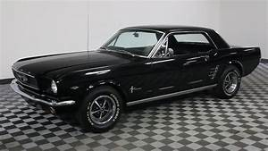 1966 FORD MUSTANG BLACK - YouTube