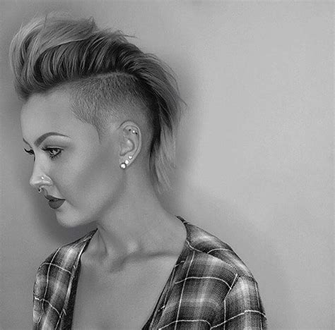 lot  shaved hairstyles  women