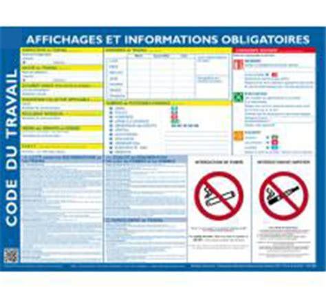 des bureaux en bois code du travail affichage obligatoire direct signalétique