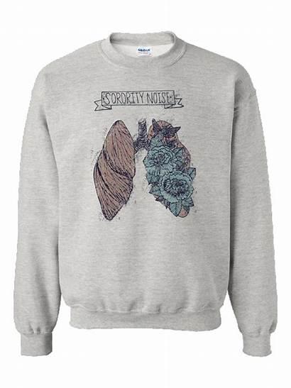Lungs Crewneck Sweatshirt Sorority Noise