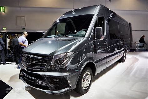 luxury minivan brabus sprinter and v class fill the luxury van gap in
