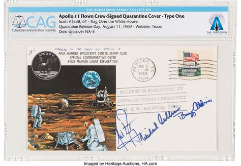 space memorabilia including neil armstrong collection brings