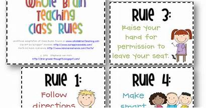 Rules Grade 3rd Brain Signs Whole Thoughts