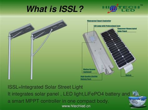 hitechled integrated solar led light vs other