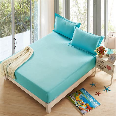 what size sheets fit a pillow top mattress sunnyrain 3 pieces polyester solid color bed sheet set