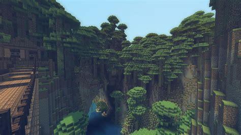 Minecraft Anime Wallpaper Hd - minecraft mountain oasis wallpaper minecraft wallpaper
