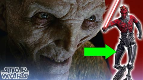 Why Snoke Cant Pull A Darth Maul Star Wars The Last