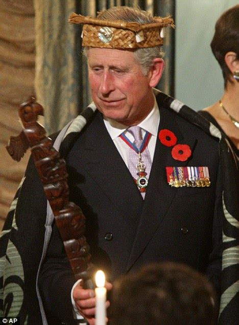 Prince Charles is 'crowned' on trip to Canada with Camilla ...