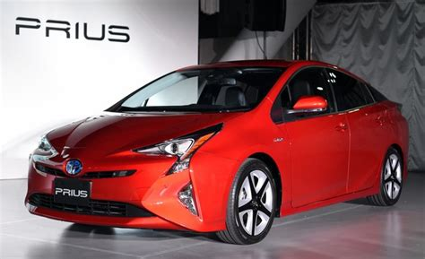 2016 Toyota Prius To Get 55 Mpg