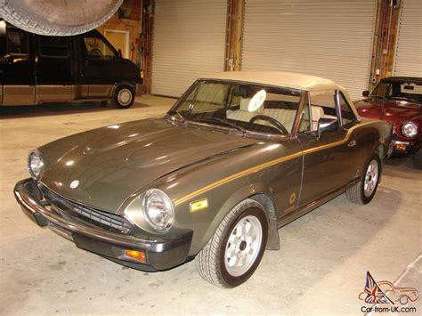 1981 Fiat Spider by 1981 Fiat Spider Turbo