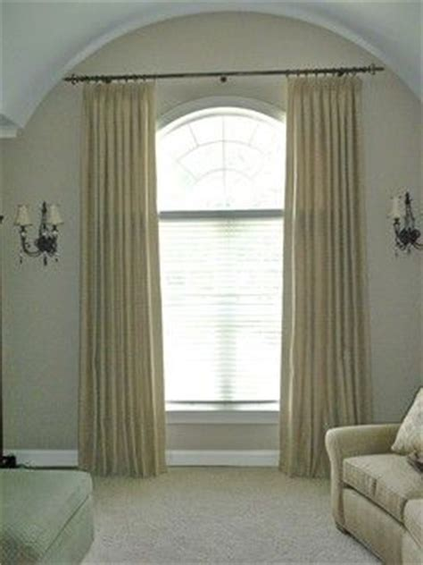 1000 ideas about arched window curtains on