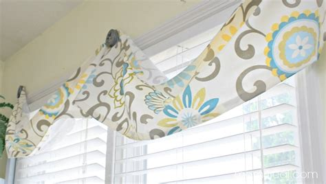 easy no sew valance 4 more no sew projects 4 real