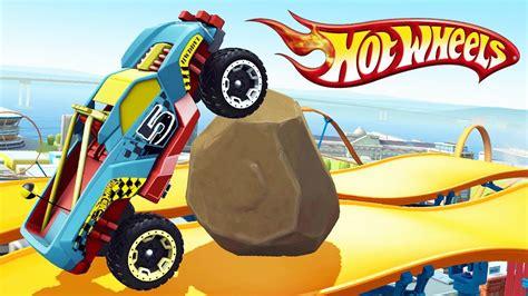 monster trucks races cartoon сумасшедшие гонки хот вилс мульт игра для детей про