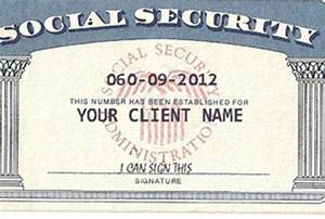 social security card template beepmunk With make a social security card template