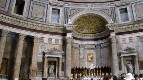 interior  panteao roma italia em hd blog viagem