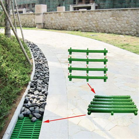 drainage solution drain grates plastic gutterway drain cover for drainage solution