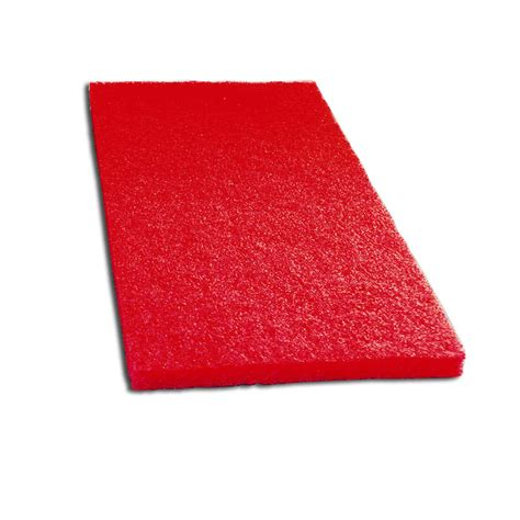 floor buffing pads types scrubble by acs 51 14x20 14 quot x 20 quot buffing floor pad