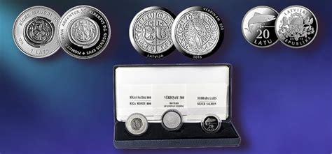 Jauns sudraba monētu komplekts