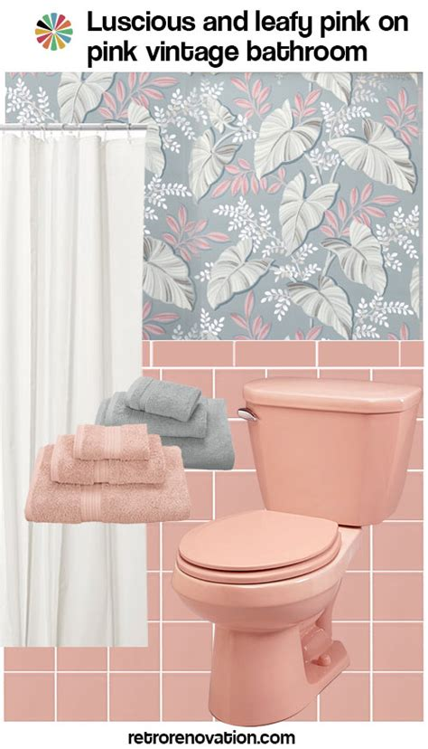 retro pink bathroom ideas 13 ideas to decorate an all pink tile bathroom retro renovation