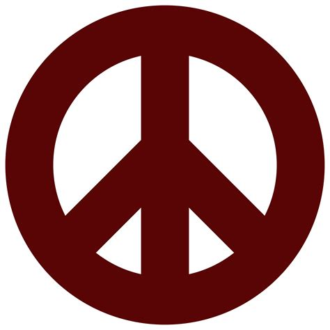 Peace Clipart Peace Sign Clip Outline Www Imgkid The Image