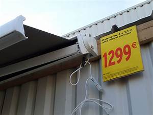 Store Banne Leroy Merlin Promotion : notice mode d 39 emploi du store banne terrasse soltera de ~ Carolinahurricanesstore.com Idées de Décoration