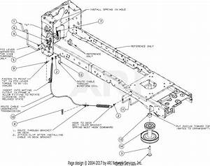 Mtd Cyt4220se 13apa1ks897  2016  Parts Diagram For Manual Pto