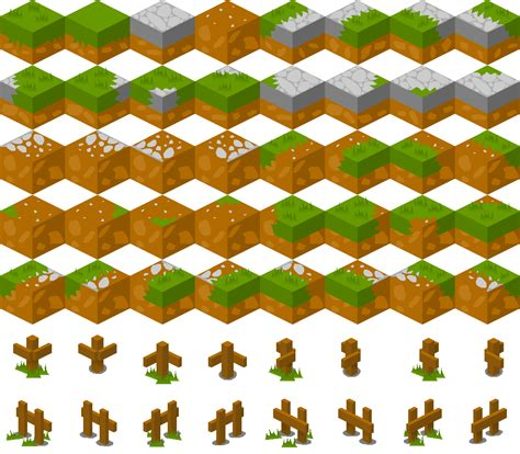 basic isometric tiles  opengameartorg