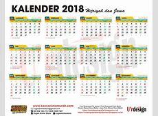 Free Download kalender 2018 Lengkap Hijriyah Jawa ~ U'rdesign