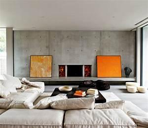 35 Wohnzimmer Ideen Zur Gestaltung Von Fuboden Wand