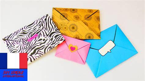 Enveloppe En Origami Jolies Enveloppes En Origami Simple Rapide Pliage D Une Adorable Lettre Bon