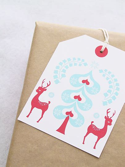 15 cute and creative diy christmas gift tag ideas style