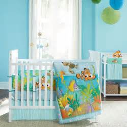 nemo s reef 4 piece crib bedding set disney baby