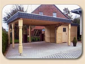 Welches Holz Für Carport : carport selber bauen mit anleitung von ~ A.2002-acura-tl-radio.info Haus und Dekorationen