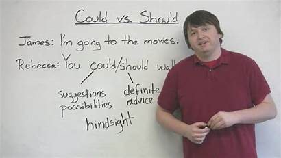Grammar Should Could English