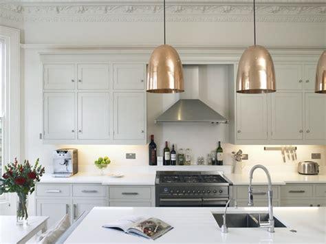 copper pendant light kitchen stanley copper pendants transitional kitchen