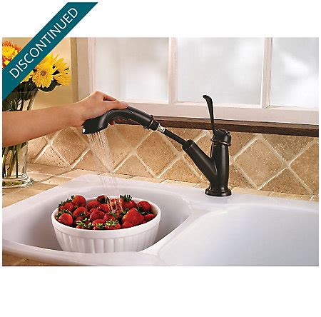 tuscan bronze bixby 1 handle pull out kitchen faucet f