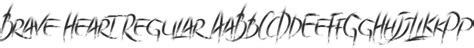 Brave Heart Font : Download Free for Desktop & Webfont