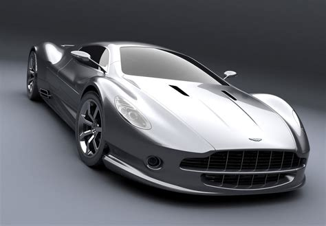 Aston Martin Amv10 Concept Car. Almost All New Design