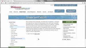 Walgreens Application Online Video