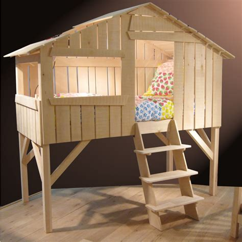 tree house bed single treehouse bed lime wood