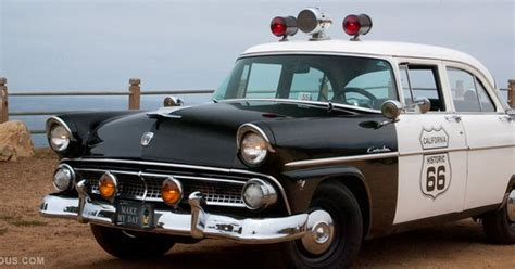 Grab A Dozen Donuts In This Original '55 Ford Police Car