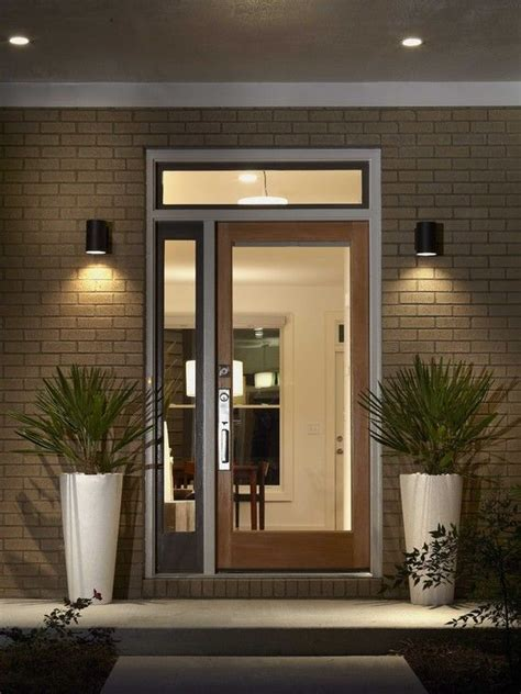 best 25 front door lighting ideas on