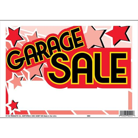 garage signs home depot hy ko 9 in x 12 in plastic contemporary garage sign
