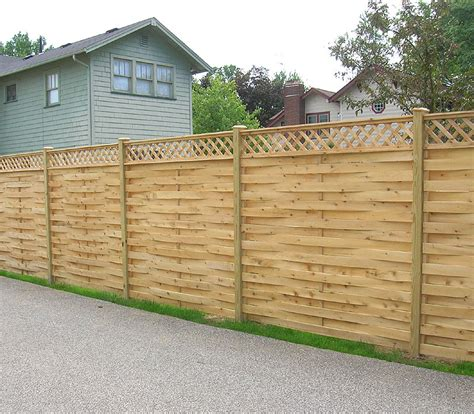 select lattice fence designs based   style homesfeed