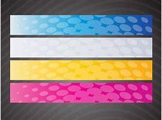 Web Banner Graphics Vector Art & Graphics freevectorcom