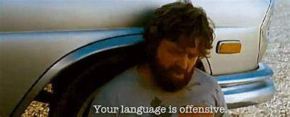 Offensive Language Hangover Alan Quotes Party Office