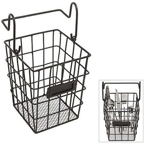 wire storage baskets for kitchen modular black metal mesh wire hanging kitchen dining 1922